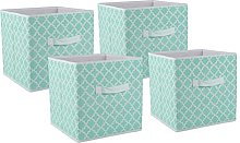 DII Foldable Fabric Storage Containers for