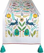 DII Kitchen Textiles, Cotton, Easter Folk, Table