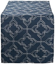 DII Spring & Summer Embroidered Table Runner,