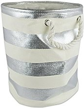 DII Woven Paper Collapsible Laundry Hamper/Storage