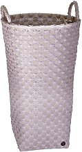 Dijon Laundry Bin Handed By Colour: Pale Grey/Nude