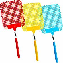 DILISEN 3 Pieces Large Extendable Fly Swatter,