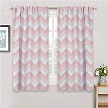 DIMICA Soundproof Curtains for Bedroom chevron