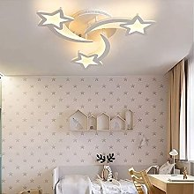 Dimmable Modern Acrylic Star-Shaped Ceiling lamp