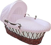 Dimple Moses Basket Bedding Set HoneyBee Nursery