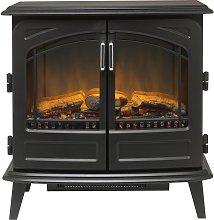 Dimplex Cassia Noir 2kW Optiflame Fire Stove-Black