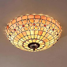 DIMPLEYA Led Tiffany Style Ceiling Light Fixtures,