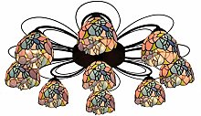 DIMPLEYA Tiffany Style Ceiling Lights Fixtures,