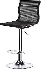 Dims Decoration Bar Chair With Backrest, Black
