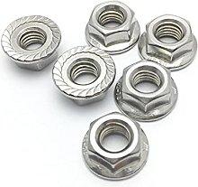 DIN6923 Stainless Steel 304/316 Flange Nut Hexagon