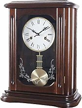 DINEGG New upgradePendulum Clock With Hourly Music