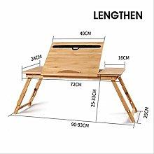 dingwen Simple Computer Desk Desktop Folding Table