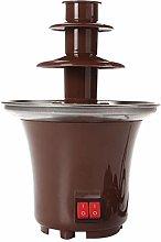 Dingyue Mini 3 Tiers Chocolate Fondue Fountain