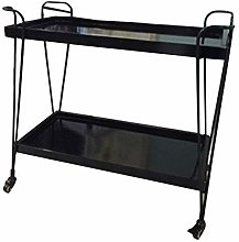 DINGZXC Kitchen Trolley Cart Rolling Serving Carts
