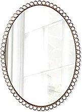 DINGZXC Mirror Bathroom Wall Mounted Makeup Mirror