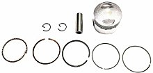 DINHOKU- 39Mm Piston Ring Kit for Gy6 50Cc Atvs,