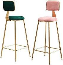 Dining Chair Modern Bar Stool Wrought Iron Bar
