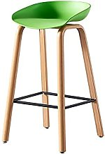 Dining Chair Nordic Bar Stool Modern Solid Wood