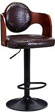 Dining Chair Solid Wood Bar Stool Lift Bar Chair