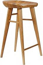 Dining Chair Solid Wood Bar Stool Modern High
