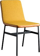 Dining Chair Textile Linen Kitchen Breakfast Chair