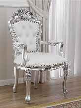 Dining chair with armrests Allison Modern Baroque