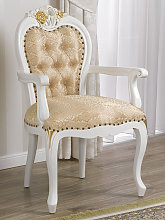 Dining chair with armrests Amalia Decape Baroque