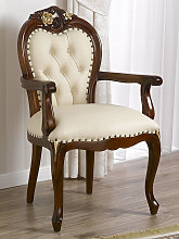 Dining chair with armrests Amalia English Baroque