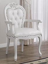 Dining chair with armrests Amalia Modern Baroque