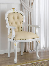Dining chair with armrests Charlotte Decape