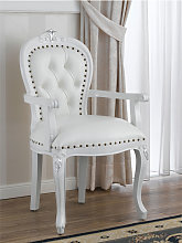 Dining chair with armrests Charlotte Modern