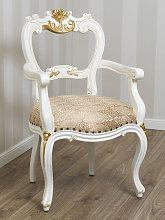 Dining chair with armrests Holly Decape Baroque