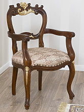Dining chair with armrests Holly English Baroque