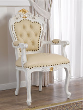 Dining chair with armrests Veronique Decape