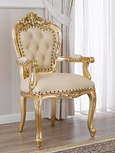 Dining chair with armrests Veronique French