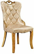 Dining Chairs Full Solid Wood Frame High Density