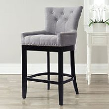 Dining Chairs Velvet Fabric Leather Pad Kitchen