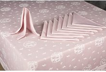 Dining Linen Set Symple Stuff Colour: Dusty Pink