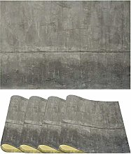 Dining Table Mats Set of 4 Placemats Concrete Wall