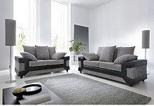 Dino 2+3 in Black & Grey - color Black