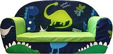 Dino in the Dark Children's Sofa Just Kids