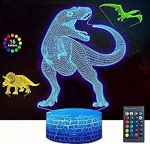 Dinosaur 3D Night Light Optical Illusion Lamp 16