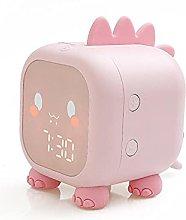 Dinosaur Alarm Clock,Kid Bedroom With Temperature