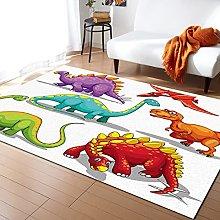 Dinosaur Cartoon Carpet for Living Room Home