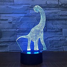 Dinosaur Illusion lamp LED Night Light Touch