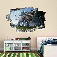Dinosaur Jungle 3D Wall Sticker Mural Decal Print