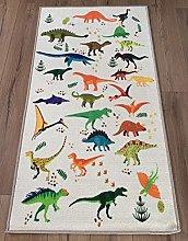 Dinosaur Polyester Area Rug Floor Carpet Anti Slip