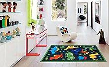 Dinosaur Polyester Area Rug Floor Carpet Non Slip