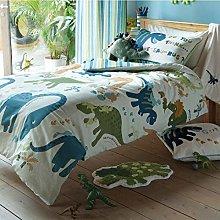 Dinosaur Single Boys Duvet Cover Set Designer