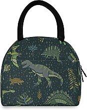 Dinozaur Pattern Lunch Bag Cooler Bag Insulated